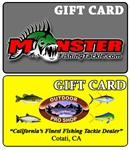 Online Fishing Tackle Gift Card