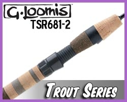 G. Loomis Rods Trout Spinning TSR681-2