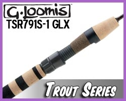 G. Loomis Rods Trout Spinning TSR791 GLX