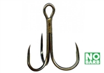 Gamakatsu Treble Round Bend Barbless Hooks