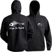 Grundens Fish Is Good Hooded Sweatshirt