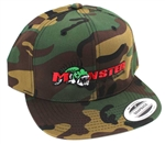 Monster Fishing Tackle Flexfit SnapBack Camo