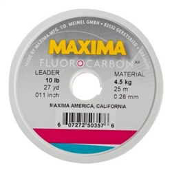 Maxima Fluorocarbon Leader