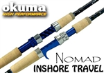 Okuma Nomad Inshore Travel Rods