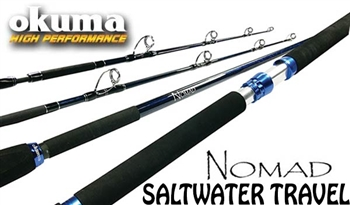 Okuma Nomad Saltwater Travel Rods