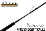 Okuma Nomad Xpress Travel Boat Rods