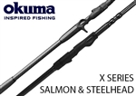 Okuma X-Series Salmon and Steelhead Rods