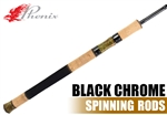 Phenix Rods Black Chrome Spinning