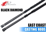 Phenix Rods Black Diamond East Coast Casting