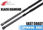 Phenix Rods Black Diamond East Coast Spinning