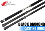 Phenix Rods Black Diamond Casting