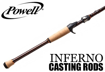 Powell Inferno Casting Rods