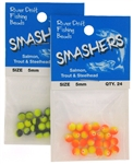 Radical Glow Painted Smasher Beads