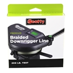 Scotty 200lb Test Premium Braided Downrigger Line
