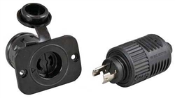 Scotty Marinco 12V Plug and Receptacle #2125