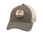 Simms Bass Patch Trucker Hat