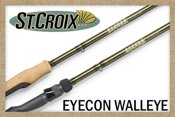 St. Croix Eyecon Walleye Rods