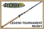 St. Croix Legend Tournament Musky Rods