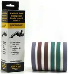 Work Sharp Knife and Tool Replacement Belt Kit