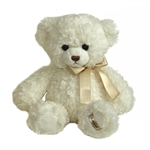 Baby Ashford Bear the 11 Inch Plush Cream Teddy Bear by Aurora