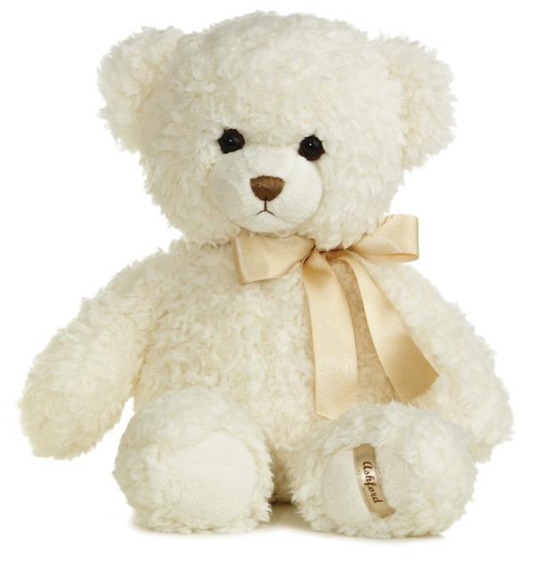 8e256d7ba06 Ashford Bear Jr The 14 Inch Plush Cream Teddy Bear By Aurora At ...