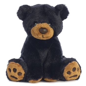 Lil Ray the Little Baby Black Bear Stuffed Animal by Aurora