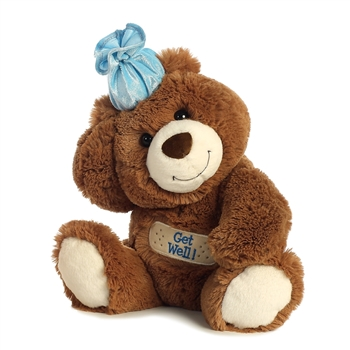 Get Well Teddy Bear with Bandage by Aurora