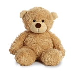 Little Bonny the Fuzzy Tan Teddy Bear by Aurora