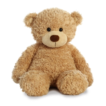 Bonny the Fuzzy Tan Teddy Bear by Aurora