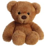 Little Softie the Plush Brown Teddy Bear by Aurora