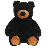 Mumford the Plush Black Teddy Bear by Aurora