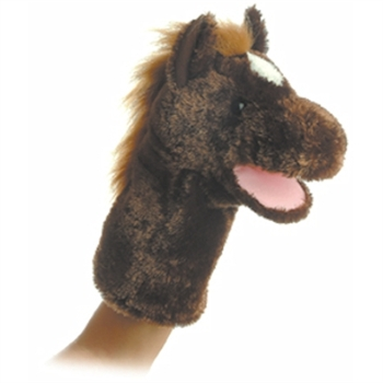 Lonestar the Plush Horse Stage Puppet By Aurora