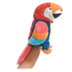 Petey the Plush Parrot Full Body Puppet by Aurora