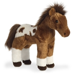 Dakota the Standing Paint Horse Stuffed Animal by Aurora