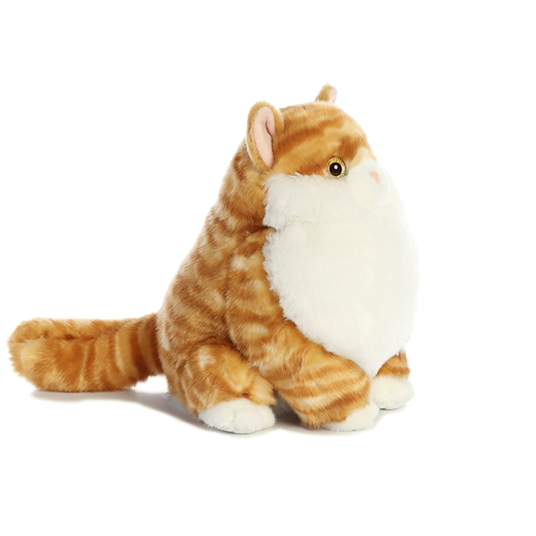 Stuffed Orange Tabby Cat Fat Cats Aurora Stuffed Safari