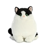 Muffins the Stuffed Tuxedo Cat Fat Cats by Aurora