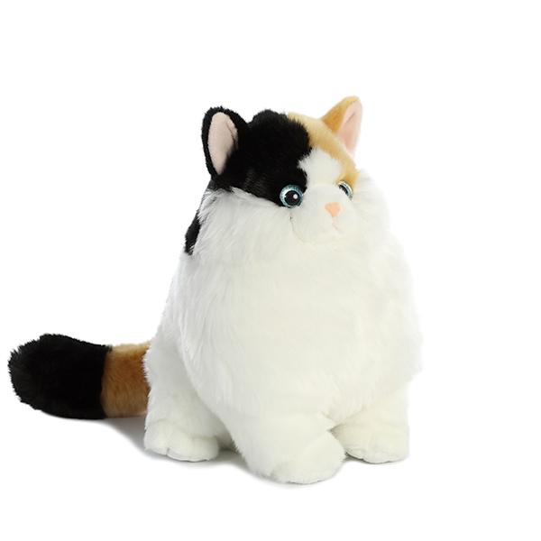 Munchy The Stuffed Calico Cat Fat Cats Aurora Stuffed Safari