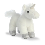 Mystic the Stuffed White Unicorn with Sound by Aurora