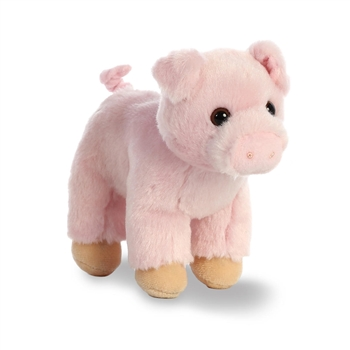 Chops the Small Stuffed Pig with Sound by Aurora