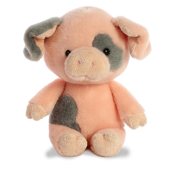 Oink the Little Stuffed Spotted Pig by Aurora