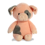 Oink the Stuffed Spotted Pig by Aurora