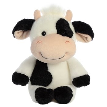 Mooty the Little Stuffed Spotted Cow by Aurora