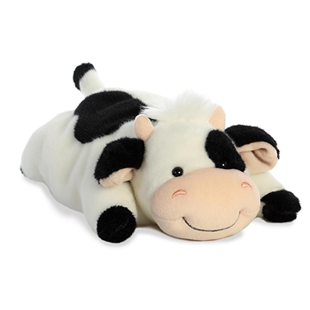 Mooty the Lying Stuffed Spotted Cow by Aurora