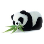 Bamboo The Plush Panda by Aurora