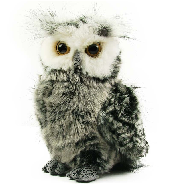 Barney The Plush Great Horned Owl By Aurora At Stuffed Safari