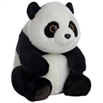 Sitting Lin Lin the Large Stuffed Panda Bear by Aurora