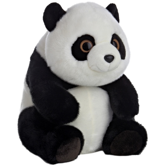 Sitting Lin Lin The Large Stuffed Panda Bear By Aurora At Stuffed Safari