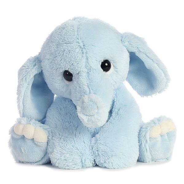 Lil Benny Phant The Blue Elephant Stuffed Animal By Aurora At