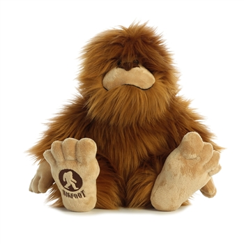 Large Sitting Bigfoot Stuffed Animal by Aurora