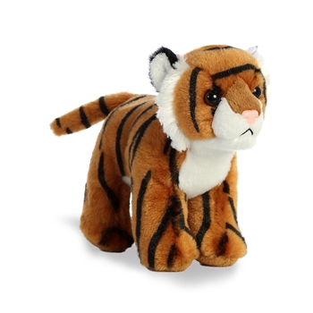 Stripes the Small Stuffed Tiger with Sound by Aurora